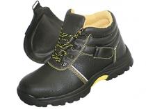 Ботинки сварщика ПРОФИ стальной подносок Нитрил. Уменьшенная фотография.