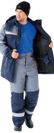 СПЕЦ синяя модель брюк. Уменьшенная фотография.