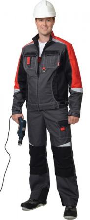Летний мужской костюм МЕГА с полукомбинезоном. Уменьшенная фотография.