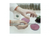 Перчатки универсальные Латекс Ansell КОНФОРМ. Уменьшенная фотография.