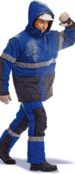 Костюм рабочий зимний НОРД синий