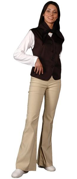 Жилет официанта продавца женский мод.056g