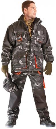 Куртка камуфлированная ЭМЕРТОН утепленная . Уменьшенная фотография.
