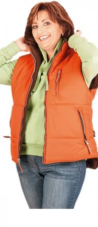 Жилет из флиса Леди Роузвиль оранж. Уменьшенная фотография.