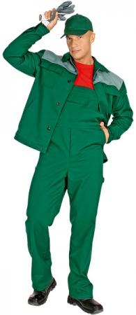 Костюм Новатор модель зеленого цвета. Уменьшенная фотография.
