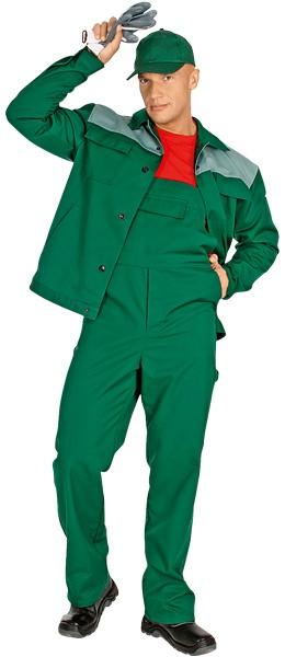 Костюм Новатор модель зеленого цвета