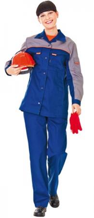 Костюм рабочий женский ЛЕДИ СПЕЦ (1) . Уменьшенная фотография.
