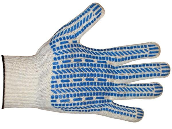 Купить Перчатки ХБ ПВХ Протектор класс 10, 5-ти нитка