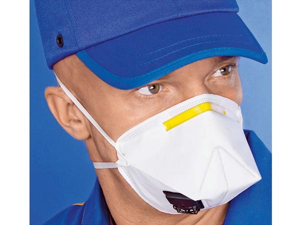Купить Полумаска 3M K111 от пыли и аэрозолей с клапаном