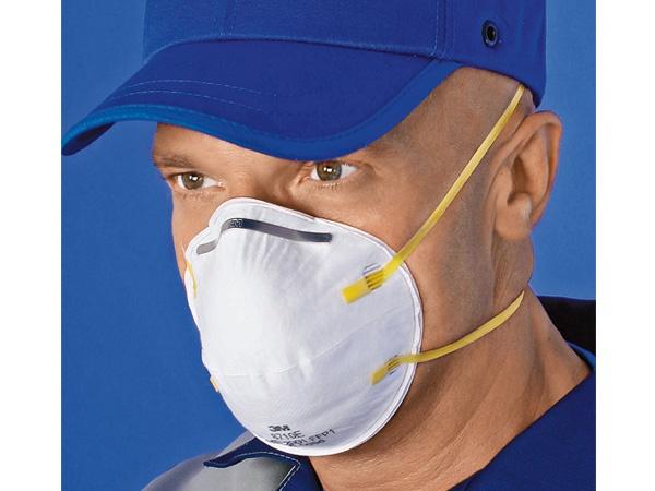 Купить Полумаска респиратор 3M 8710 от пыли и туманов