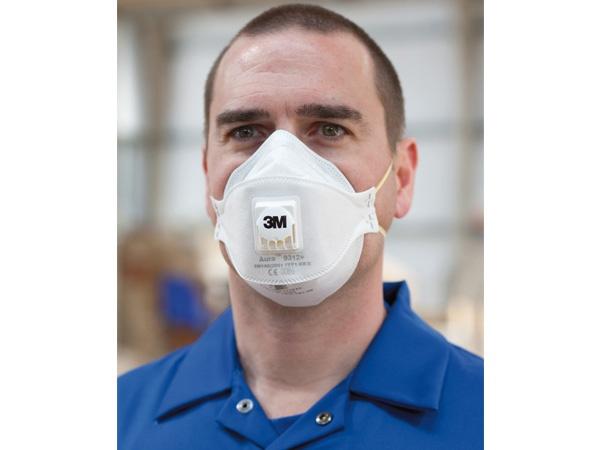 Купить Респиратор для защиты от пыли и туманов Aura 9312+
