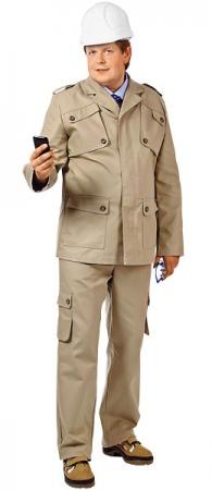 Костюм ИТР ТРЕНД  куртка брюки 60% хлопок. Уменьшенная фотография.