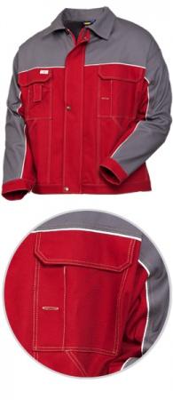 Куртка рабочая SWW модель 4395-83-58 100% хлопок. Уменьшенная фотография.