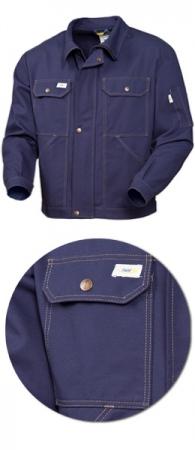 Куртка мужская SWW модель 471-14 100% хлопок Синяя. Уменьшенная фотография.