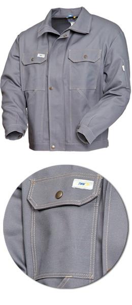 Куртка мужская серая модель 471-58 100% хлопок
