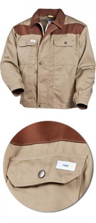 Куртка летняя ИТР модель 495S-PR-54-06 35/65 хб-пэ. Уменьшенная фотография.