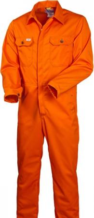Комбинезон оранжевый из хлопка 830-FAS-77 SWW . Уменьшенная фотография.