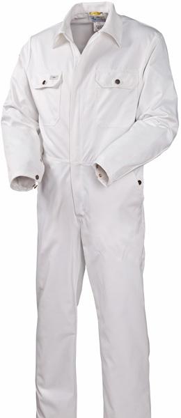 Белый комбинезон из хлопка 830-FAS-00 SWW