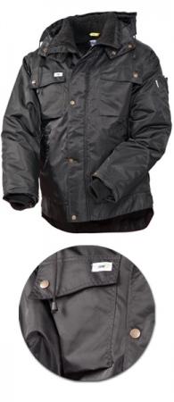 Куртка зимняя SWW модель 428T-90 цвет черный. Уменьшенная фотография.