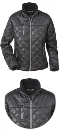 Женская легкая стеганная куртка Шелл. Уменьшенная фотография.