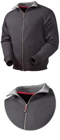 Мужская куртка - толстовка на молнии. Уменьшенная фотография.