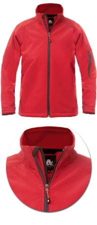 Куртки женские Softshell 1404 эластичный полиэстер. Уменьшенная фотография.
