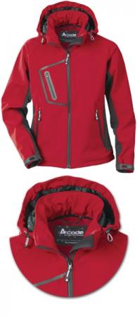 Женские куртки  Acode софтшелл модели 1445. Уменьшенная фотография.