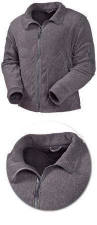Куртка из флиса Acode модель 1411 серая. Уменьшенная фотография.