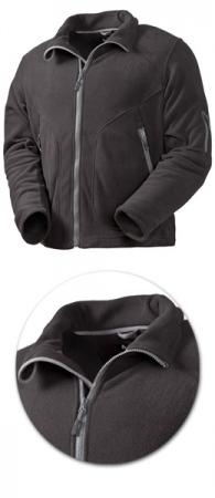 Куртка из флиса Acode модель 1411 черная. Уменьшенная фотография.
