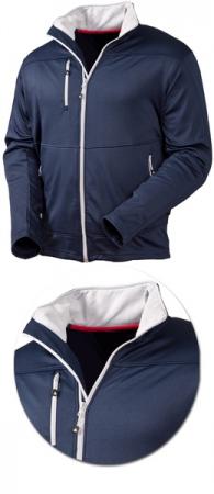Мужская куртка Acode модель 1740 пауэршелл . Уменьшенная фотография.