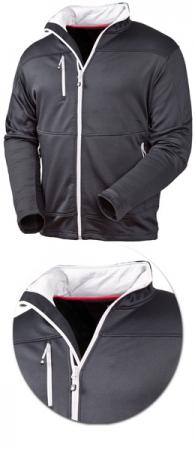 Куртка Acode Пауэршелл модель 1740 черная. Уменьшенная фотография.