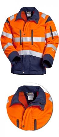 Куртка SWW Дорожник 4676Т-15/75 сигнальная. Уменьшенная фотография.