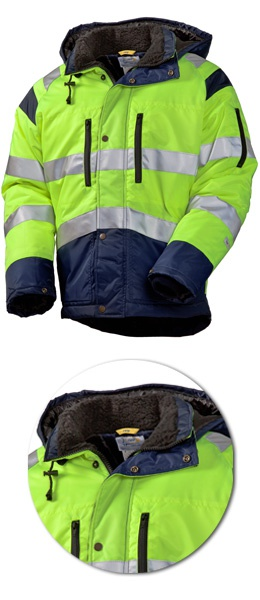 Куртка SWW Дорожник зима 4677T-71/14 сигнальная