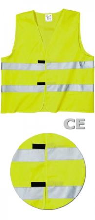 Сигнальный жилет SWW Евро-СЕ цвет лимонный. Уменьшенная фотография.