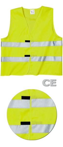 Сигнальный жилет SWW Евро-СЕ цвет лимонный