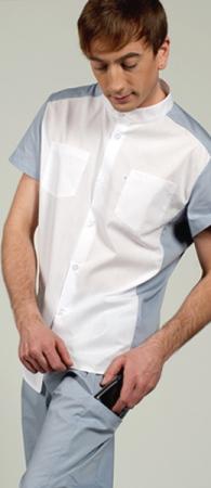 Мужской медицинский костюм 8-850 Айман. Уменьшенная фотография.
