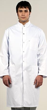 Оригинальный медицинский халат на кнопках 1-573. Уменьшенная фотография.