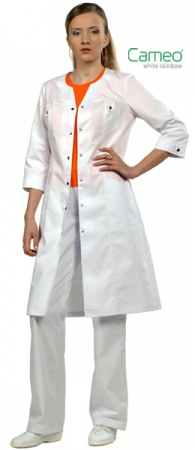 Камея - стильные женские медицинские халаты. Уменьшенная фотография.