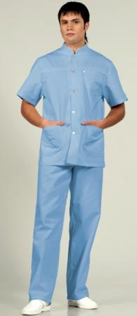 Мужской медицинский костюм 536 Персонале. Уменьшенная фотография.