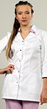 Костюм женский Камея модель 711-142 на кнопках. Уменьшенная фотография.