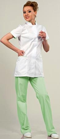 Медицинский костюм 811-420 застежка на пуговицы. Уменьшенная фотография.