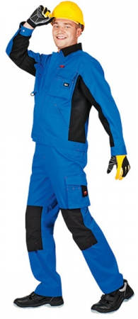 Куртка СПЕЦ Авангард Синий с черным. Уменьшенная фотография.