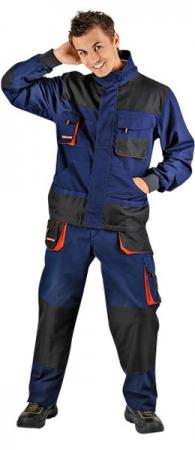 Рабочая куртка CERVA ЭМЕРТОН НЭВИ. Уменьшенная фотография.