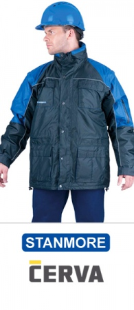 Утепленная куртка коллекции СТАНМОРЕ 3х1. Уменьшенная фотография.