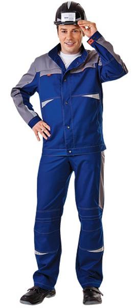 Куртка рабочая СПЕЦ летняя цвет синий с серым