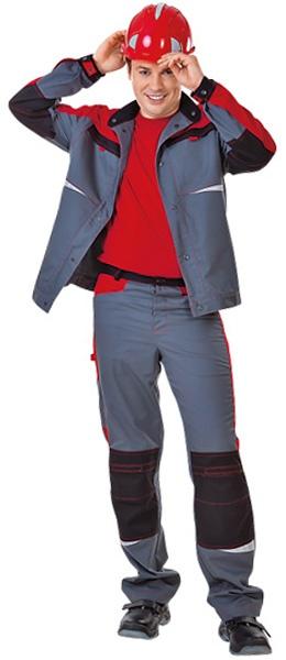 Рабочие брюки СПЕЦ Тамбой цвет серый