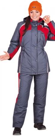 Костюм рабочий женский СПЕЦ зимняя модель. Уменьшенная фотография.