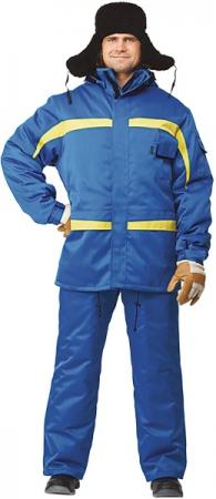 ИНЕЙ модель зимнего мужского костюма. Уменьшенная фотография.