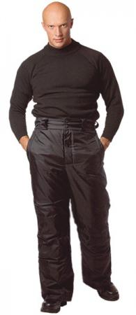Брюки мужские рабочие зимние ФЛАЙ черные. Уменьшенная фотография.