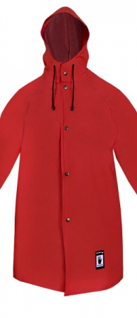 Рабочая непромокаемая куртка-плащ PROS-588. Уменьшенная фотография.